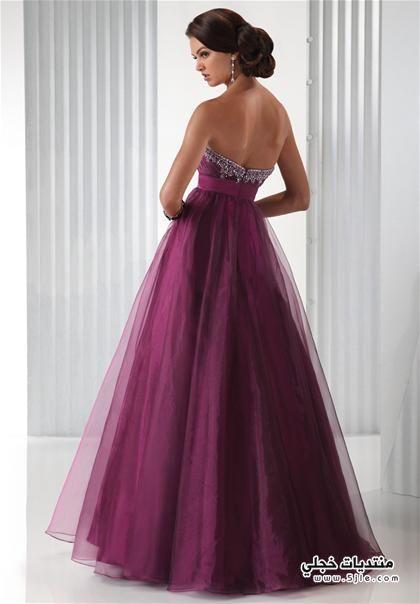 Evening Dresses 2015 ازياء سهرة