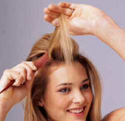 تكثيف الشعر الخفيف 2015 علاج