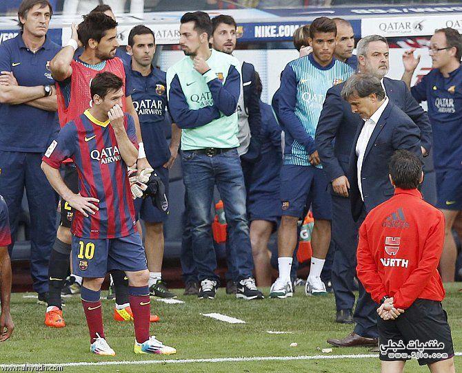 رحيل ميسي برشلونة جماهير برشلونة