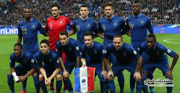 ديشامب يعلن تشكيلة فرنسا العالم