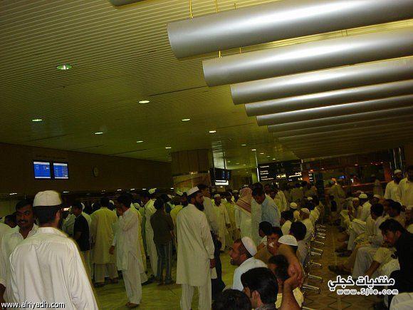 انقطاع تيار الكهرباء مطار الملك