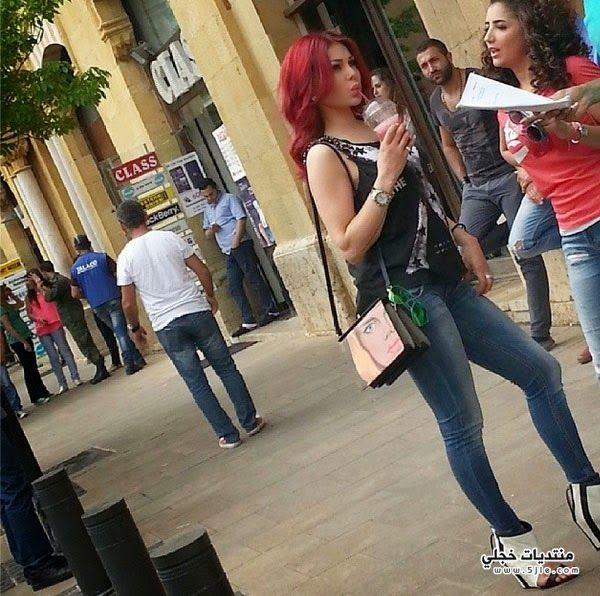 هيفاء وهبي شوارع بيروت