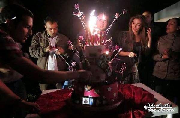 ميريام فارس تحتفل بعيد ميلادها
