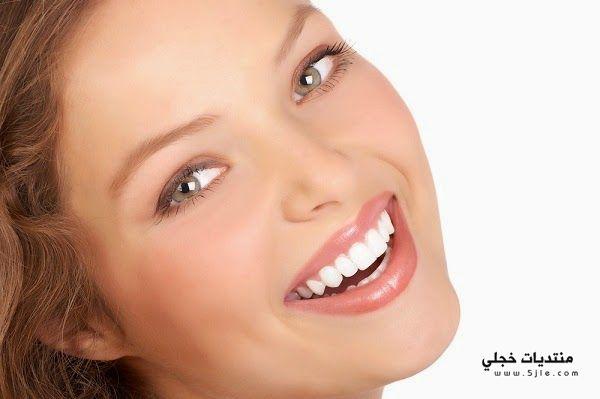 طريقة تنظيف الاسنان وتبييضها تبييض