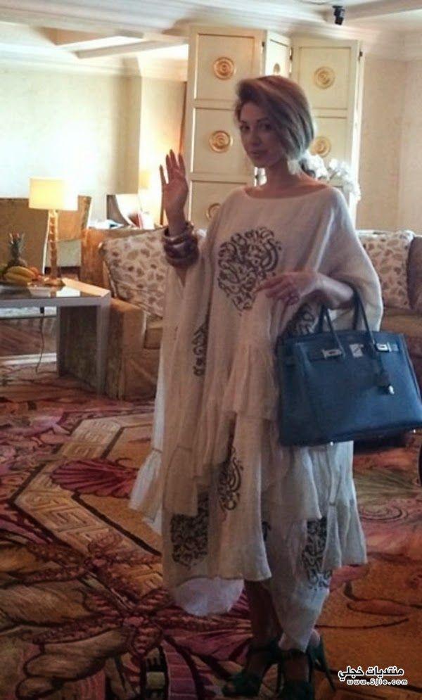 ميريام فارس بعباءة عربية ميريام