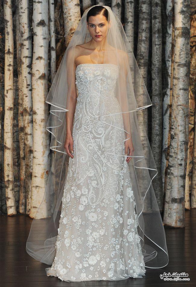 فساتين الزفاف والخطوبة 2015