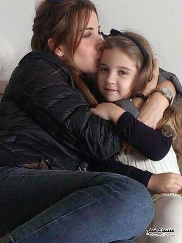 نانسي عجرم تحتفل ابنتها بعيد
