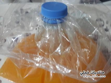 طريقة تفريز عصير البرتقال