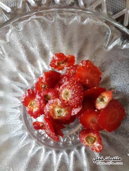 تفريز عصير الفراوله