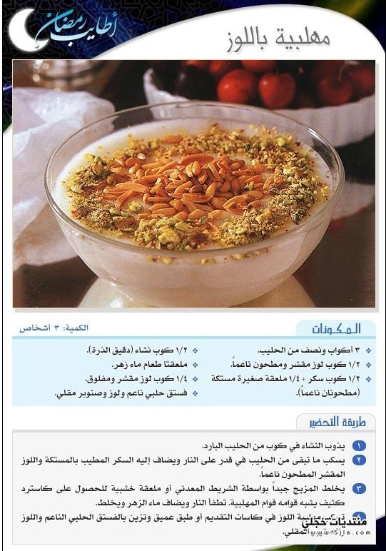حلويات رمضانية 2017