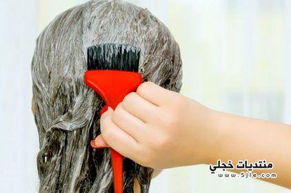 ازالة صبغة الشعر الجلد
