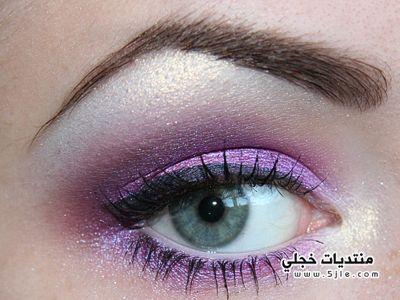 طريقة مكياج عيون 2013 جديد