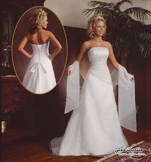 فساتين زفافك منوعة فساتين روعة