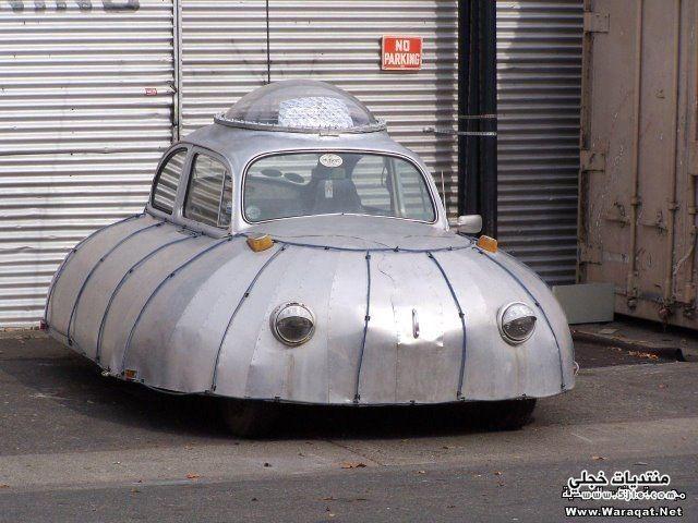 سيارات غريبة سيارات باشكال غريبة