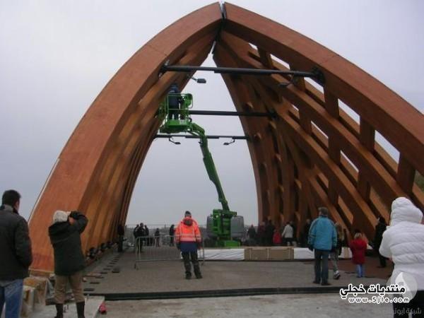 الجسر الخشبي هولندا الجسر الخشبي