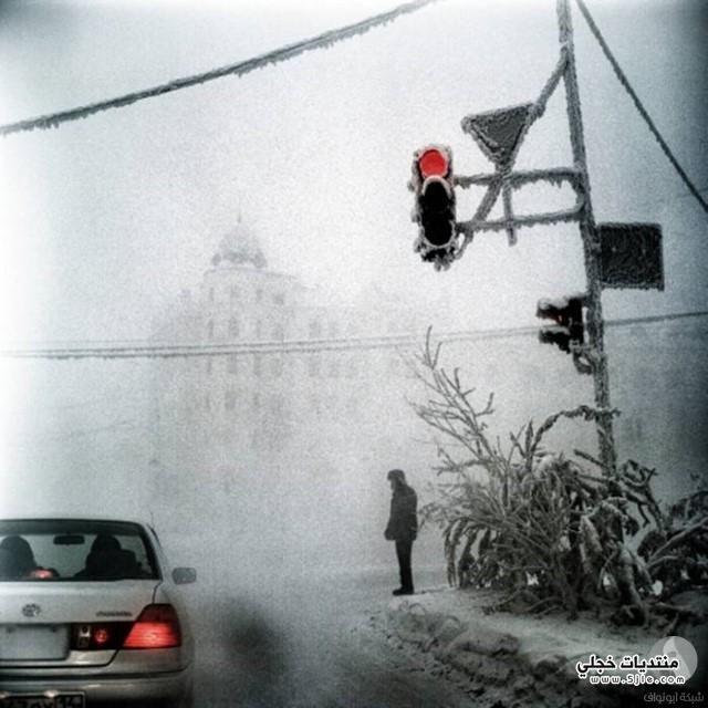 ابرد مدينة العالم مدينة ياكوتسك