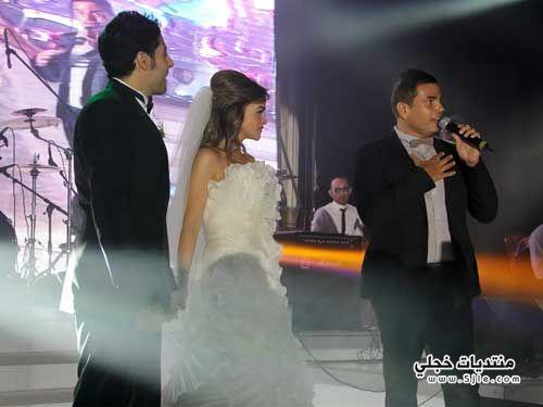 عمرو دياب ومحمد حماقى زفاف