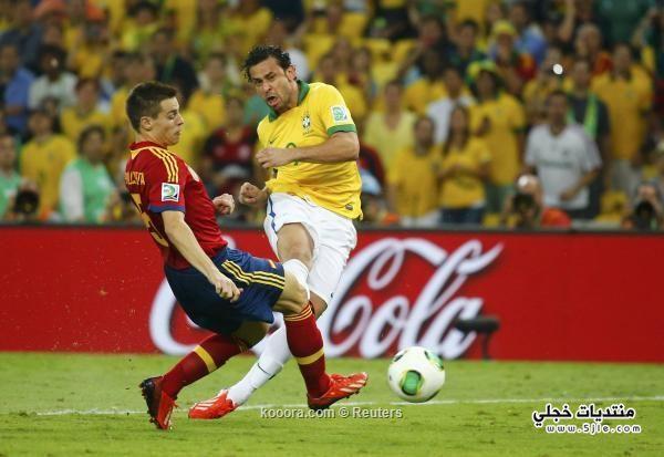 البرازيل تفوز اسبانيا القارات 2013