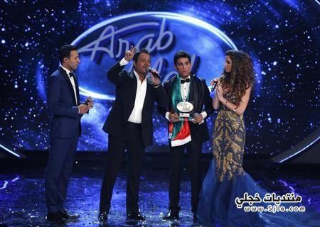 محمد عساف يفوز برنامج ايدول