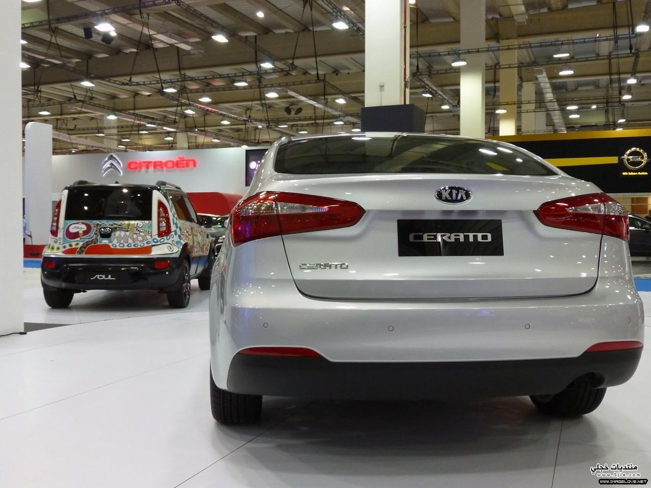 احدث سيارات سيراتو- cerato 2014
