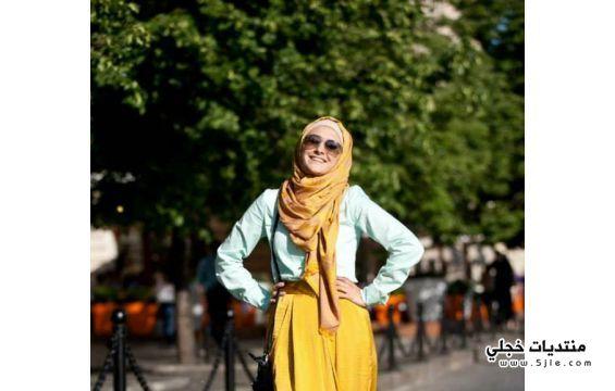 حجاب صيفي 2014 الحجاب الصيفي