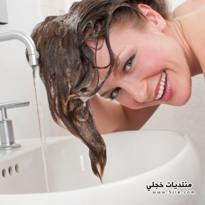 الطريقة الصحيحة لغسل الشعر اخطاء