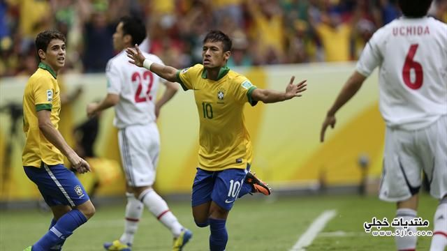 البرازيل تفوز اليابان القارات البرازيل