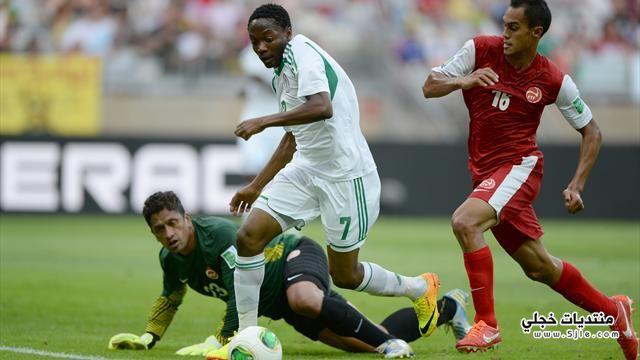 نيجيريا تفوز تاهيتي القارات نيجيريا