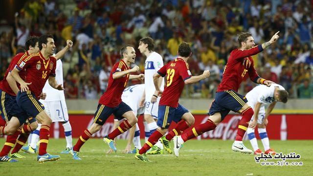 اسبانيا تفوز ايطاليا بركلات الترجيح