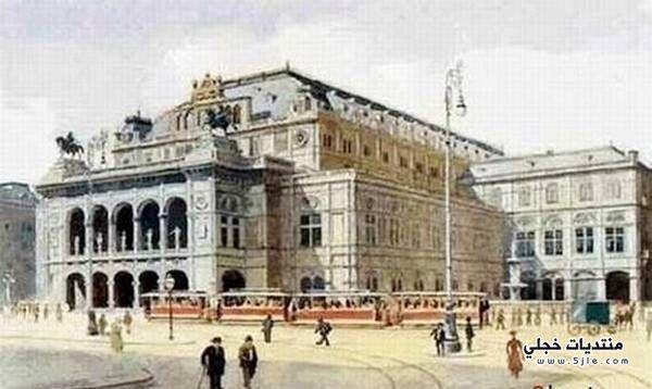 لوحات الفنان النازي ادولف هتلر