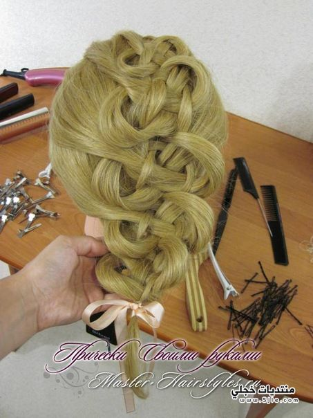 رائعة لعمل ضفائر الشعر ضفائر