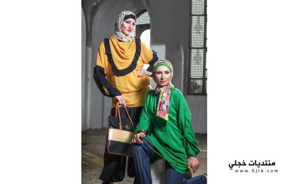 تصاميم حجاب للمصممة داليا تصاميم