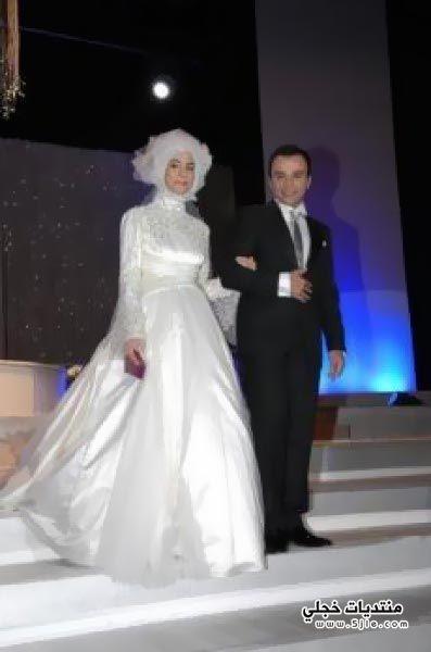 فستان زفاف ابنة رئيس تركيا