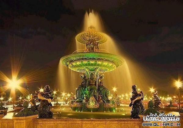 اجدد باريس بالليل 2013 مناطق