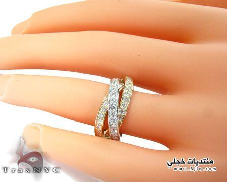 خواتم الماس ناعمة 2014 خواتم