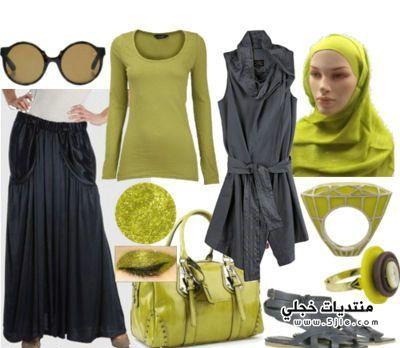 أجمل ملابس محجبات 2014 Very