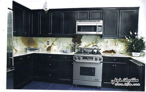 مطابخ بالوان رائعه 2013 مطابخ
