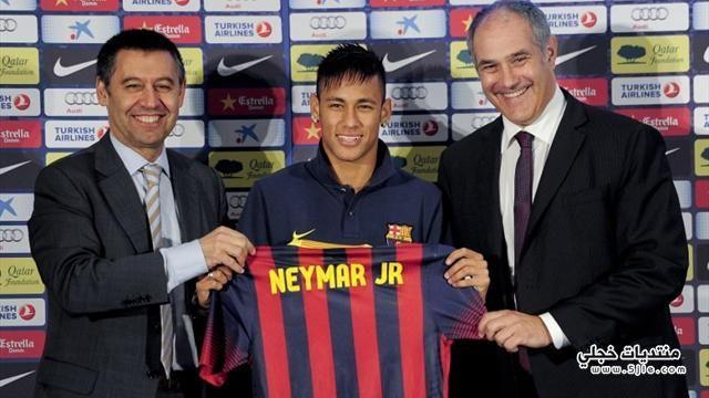 نيمار ينتزع نيمار برشلونة اللاعب