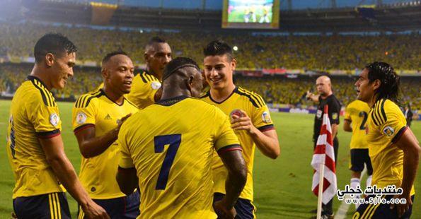 منتخب كولومبيا العالم 2014 منتخب