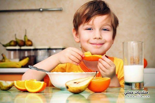 اطعمة تقوي مناعة الطفل تقوية