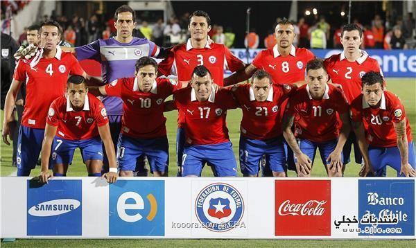 منتخب تشيلي العالم 2014 منتخب
