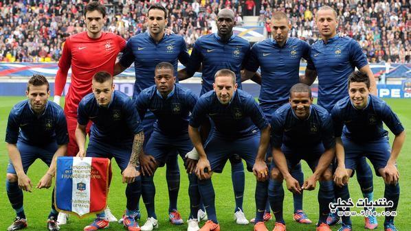 منتخب فرنسا العالم 2014 منتخب