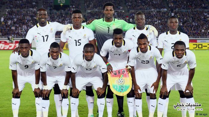 منتخب غانا العالم 2014 منتخب
