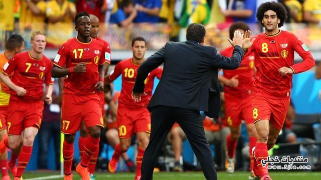 بلجيكا الجزائر العالم 2014 خسارة