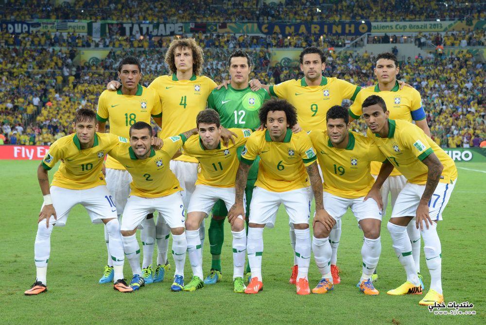 منتخب البرازيل العالم 2014 منتخب