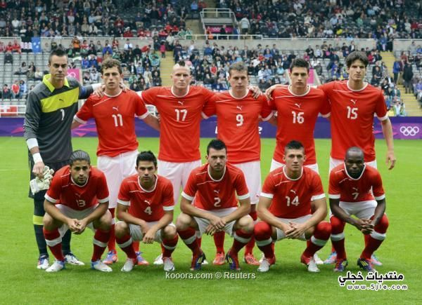 منتخب سويسرا العالم 2014 منتخب