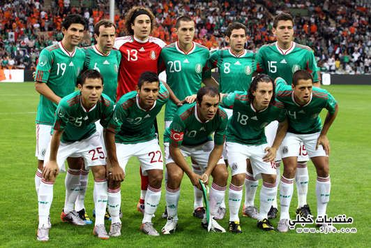 المنتخب المكسيك العالم 2014 المنتخب