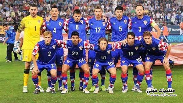 منتخب كرواتيا العالم 2014 منتخب