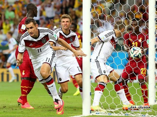 تعادل المانيا وغانا العالم 2014