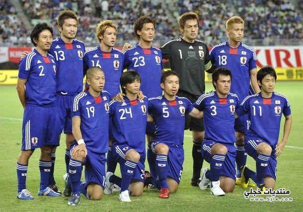 منتخب اليابان العالم 2014 منتخب